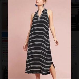 {POSTMARK BY ANTHROPOLOGIE} black and white dress
